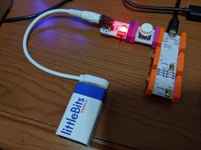 Littlebits Arduino Keyboard Prank