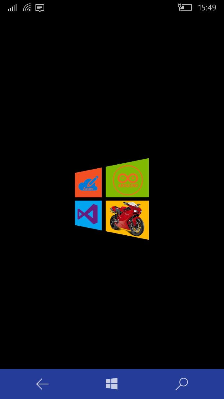 Application splashscreen on Windows 10 mobile