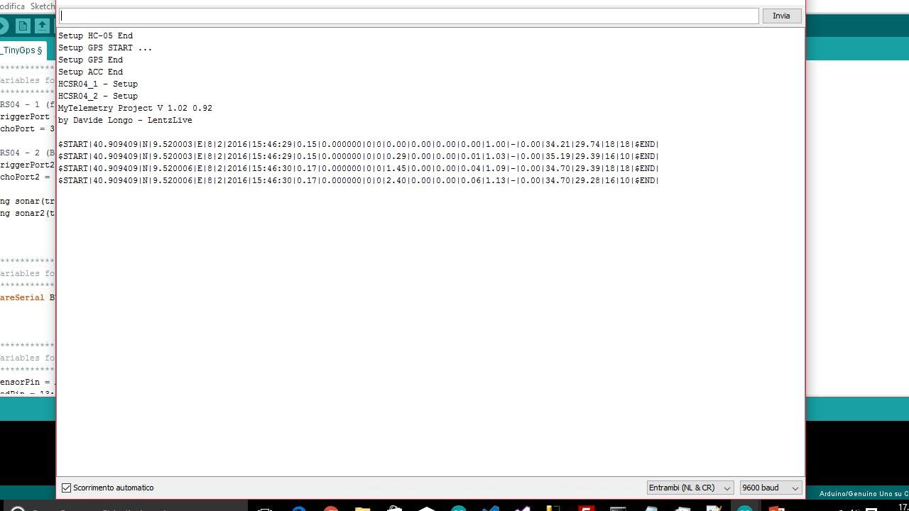 Arduino IDE - Serial Monitor