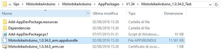 Package Folder