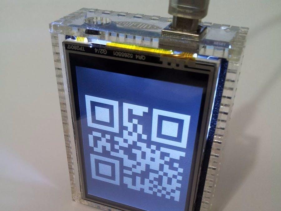 Enigma QR Clock