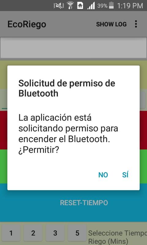 Bluetooth Activation