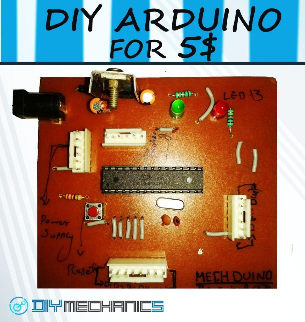 The DIY Adruino Board for $5