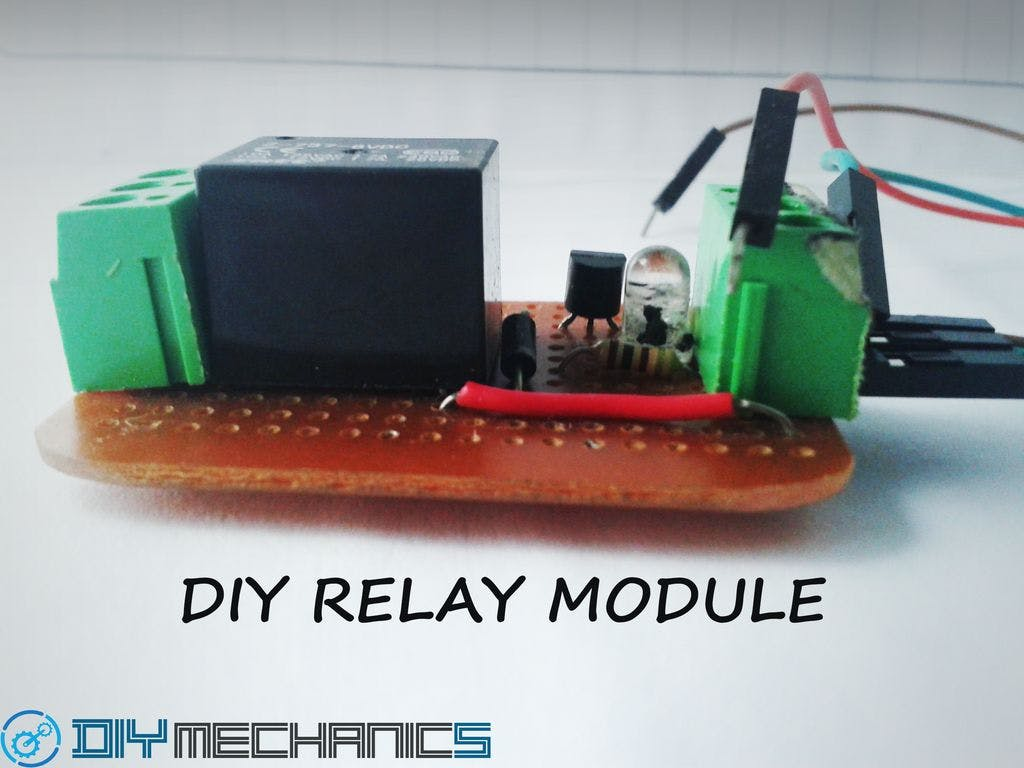 Diy Relay Module The 8way Board
