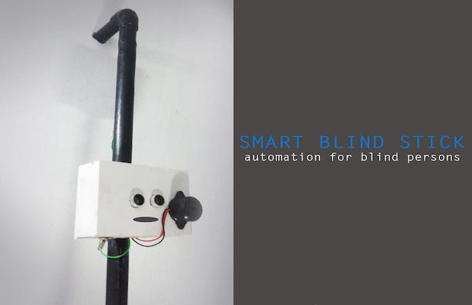 Diy Smart Cane Using Arduino Arduino Project Hub