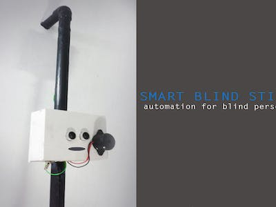 DIY Smart Cane Using Arduino