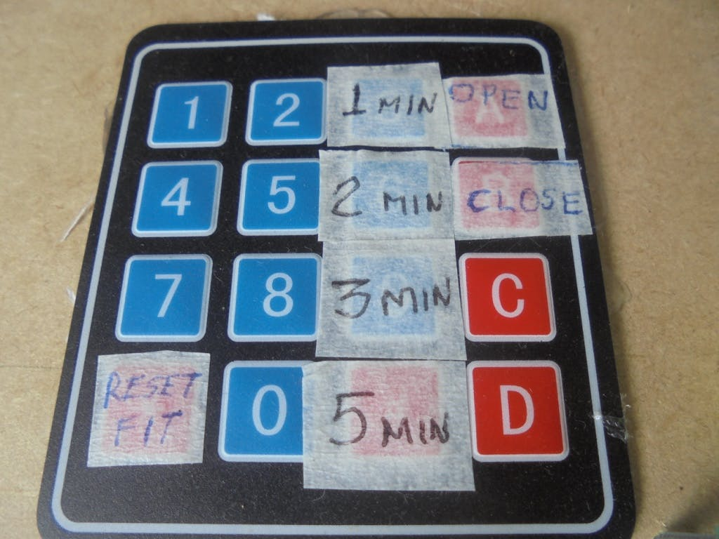 Keypad Control Inputs