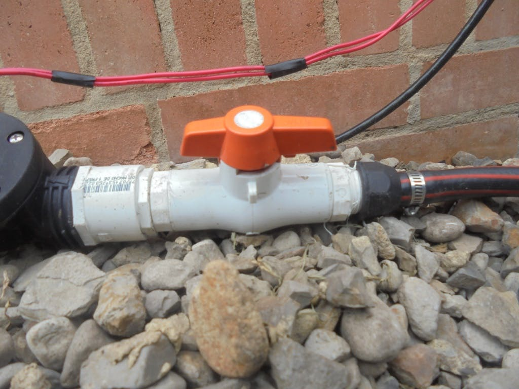 Cut Type Ball Valve- Installed upstream solenoid valve