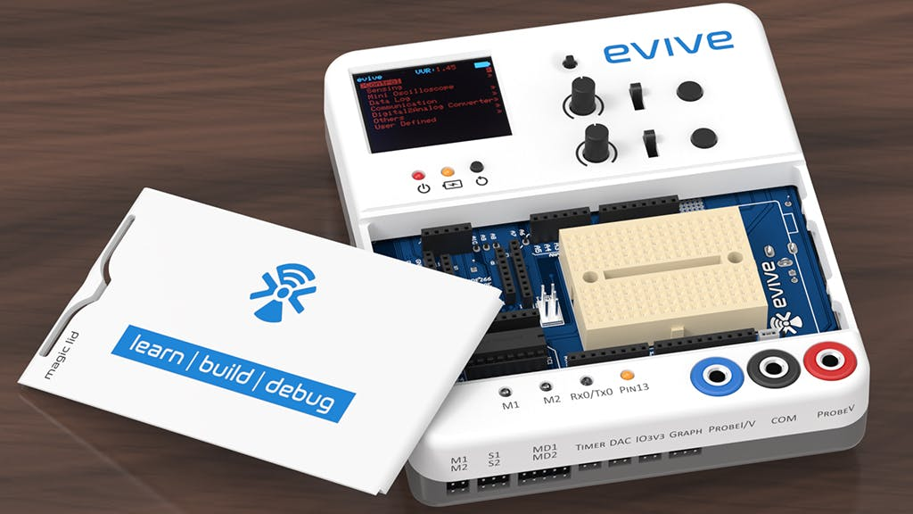 evive: An opensource Arduino powered prototyping kit