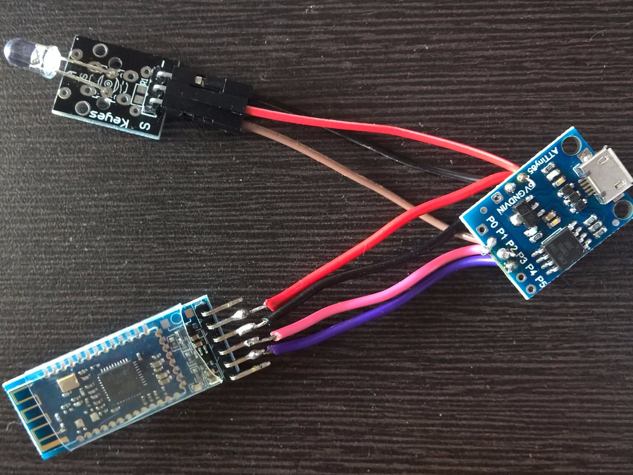 Bluetooth LE Integration with Digispark