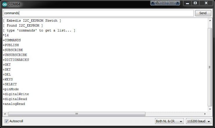 Embedis: I2C EEPROM Keystore - Hackster io