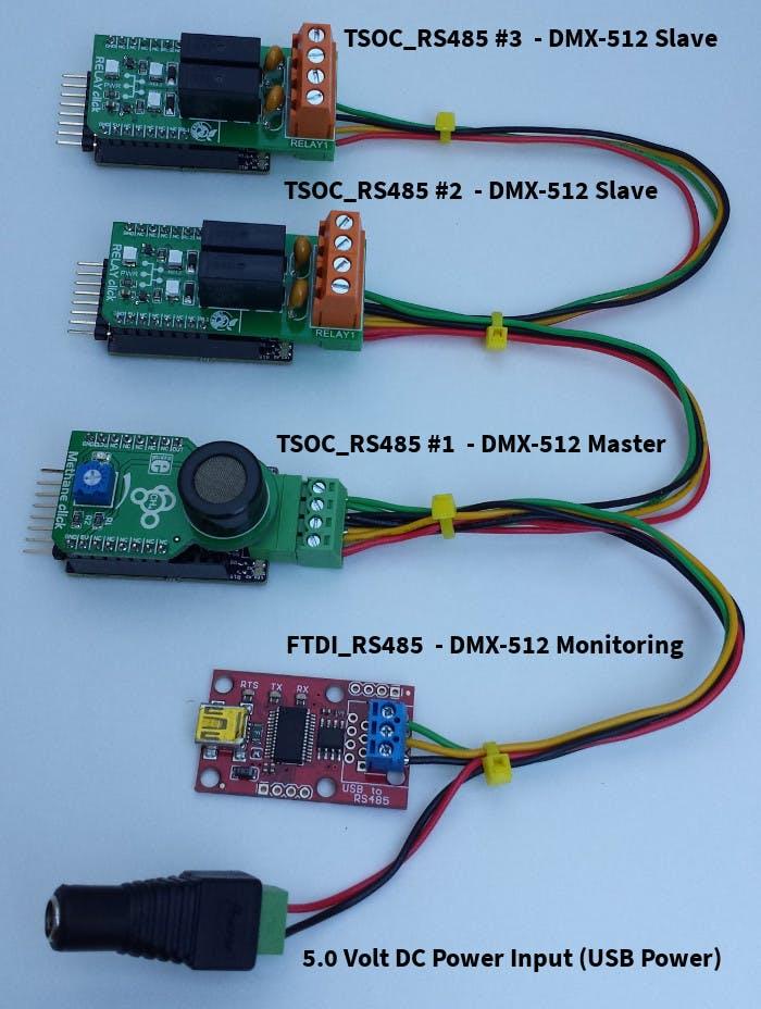 Dmx-512   Light  U0026 Relay Control