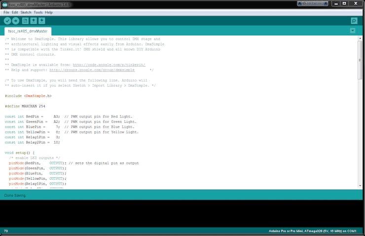 DMX-512 : Light & Relay Control - Hackster io