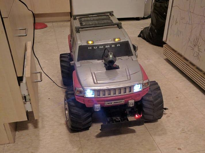 Wifi RC Hummer