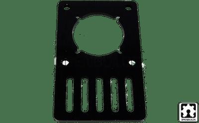 Openbuilds motor mount plate nema 23 stepper motor for Nema 23 motor mount plate