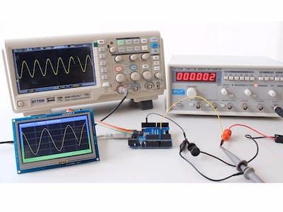 SmartGPU2 - Arduino Oscilloscope