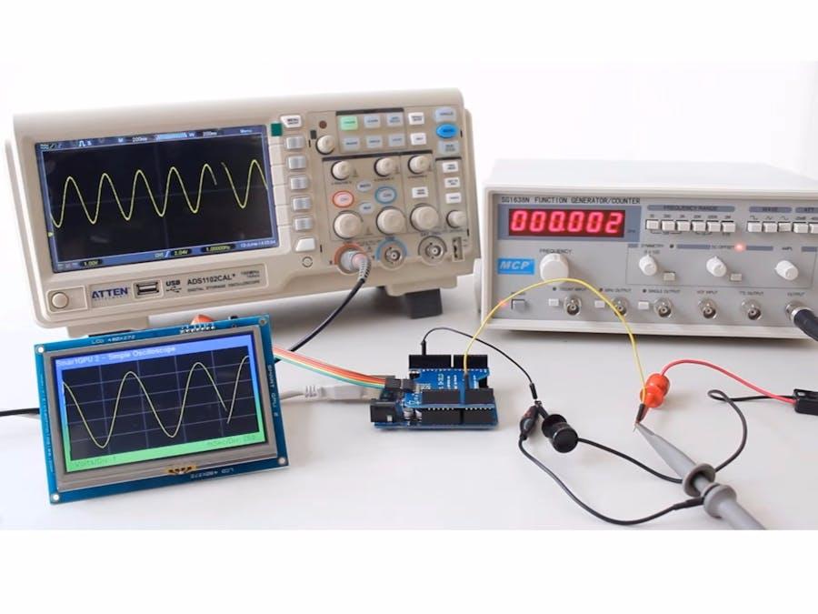 Smartgpu arduino oscilloscope hackster