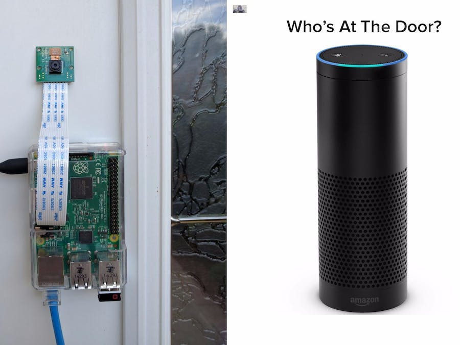 Alexa, Who's At The Door?