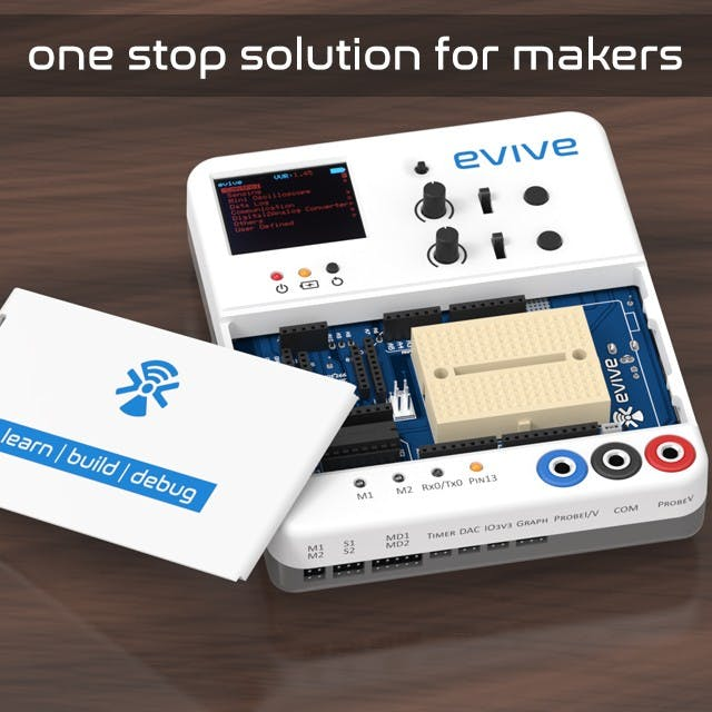 Evive: a Prototyping Platform for Makers