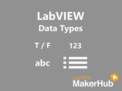 LabVIEW Basics - 04 | Data Types