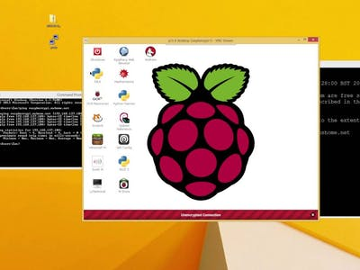 Setting VNC Server in Raspberry Pi