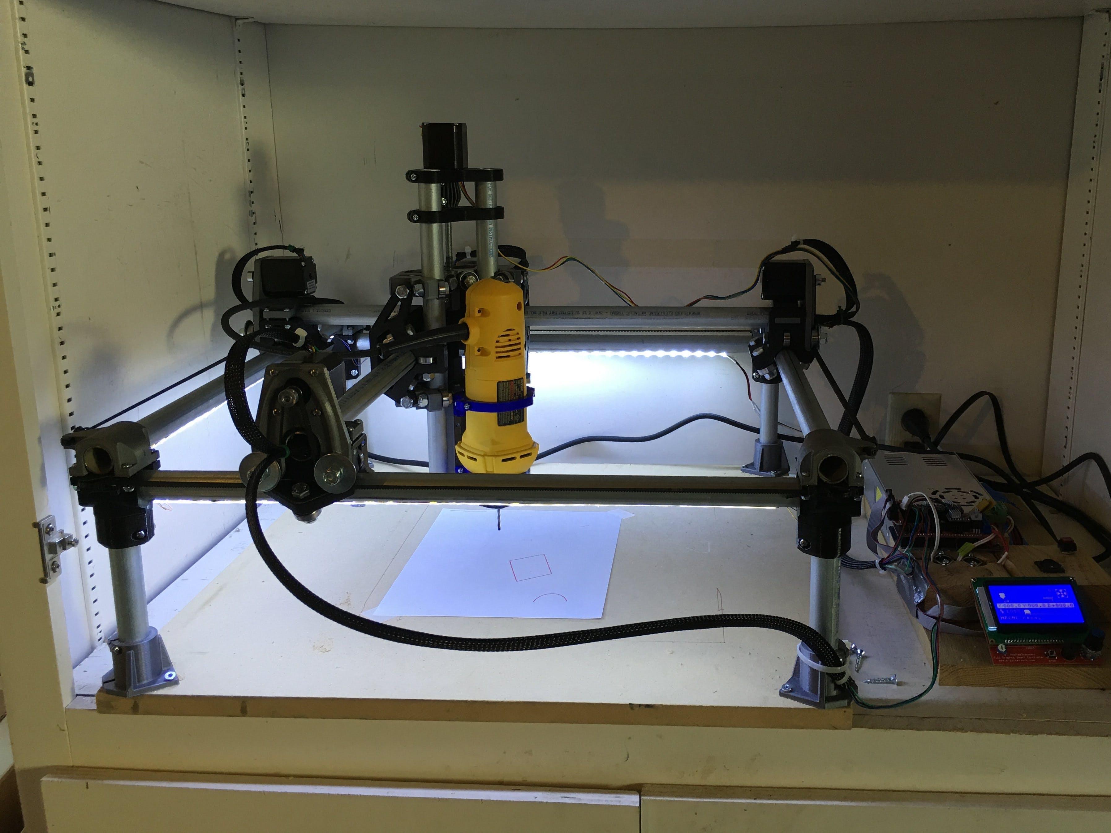 CNC (Mostly 3D Printed)