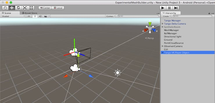 Simple VR Mesh Environment with Tango - Hackster io