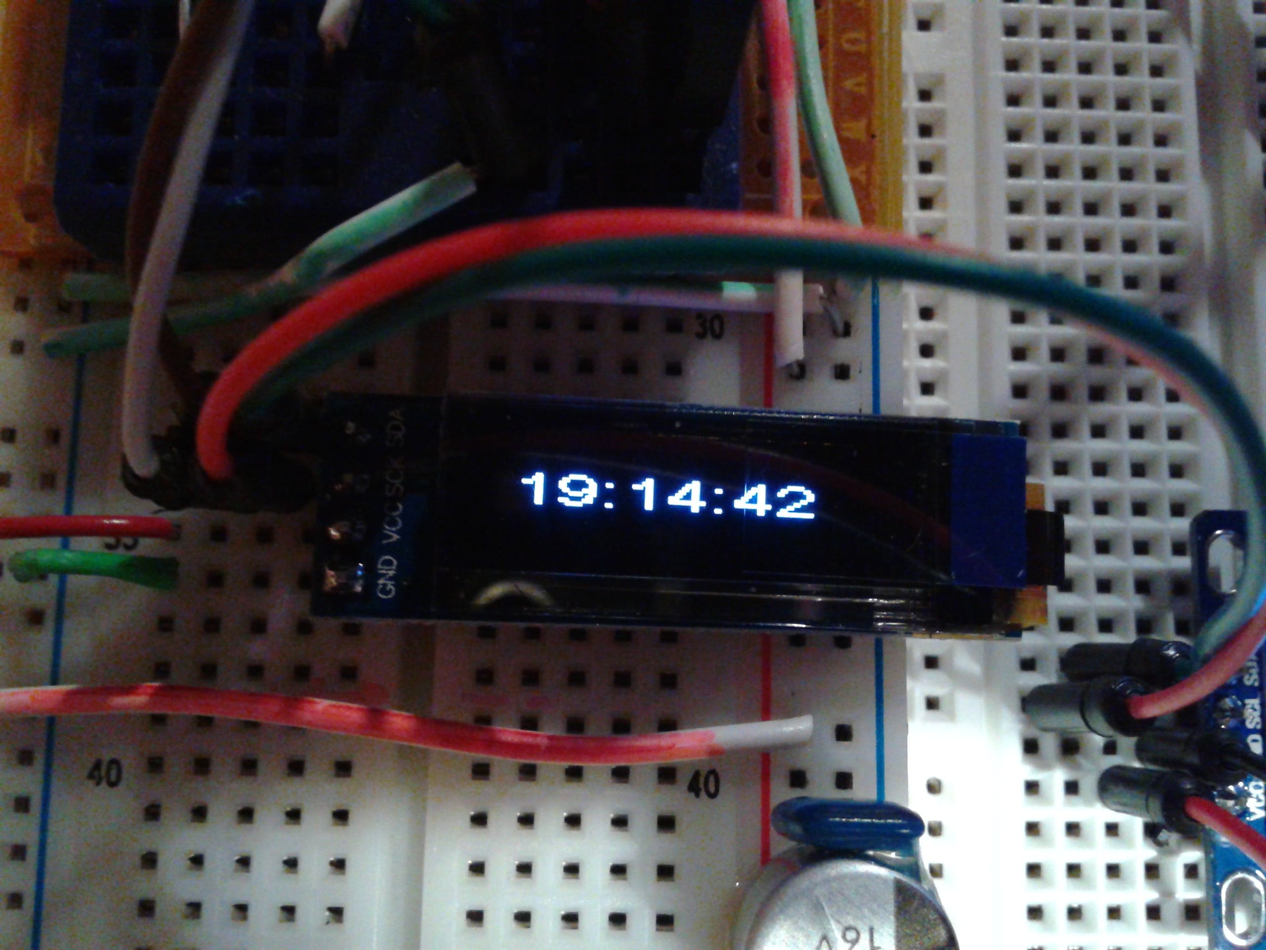 0.91 inch 128x32 OLED Display