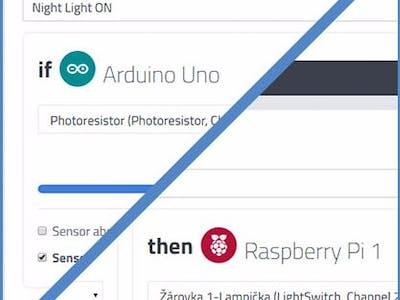 Night Lighting with Arduino + Raspberry Pi