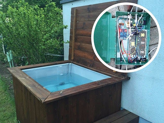 DIY Hot Tub with Mobile/Online Control - Hackster.io