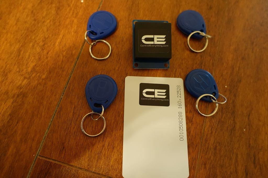 Arduino RFID Key Fob