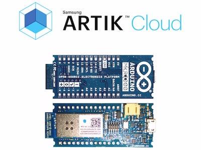 Arduino MKR1000 - DHT - Artik cloud