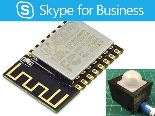 ESP8266 Skype for Business Monitor
