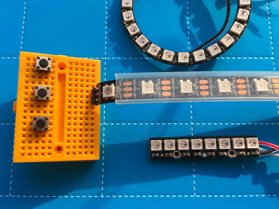 NeoPixel LEDs: Arduino Basics - Arduino Project Hub