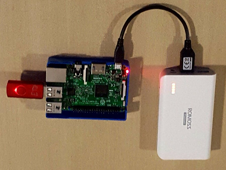 Portable media server and access point