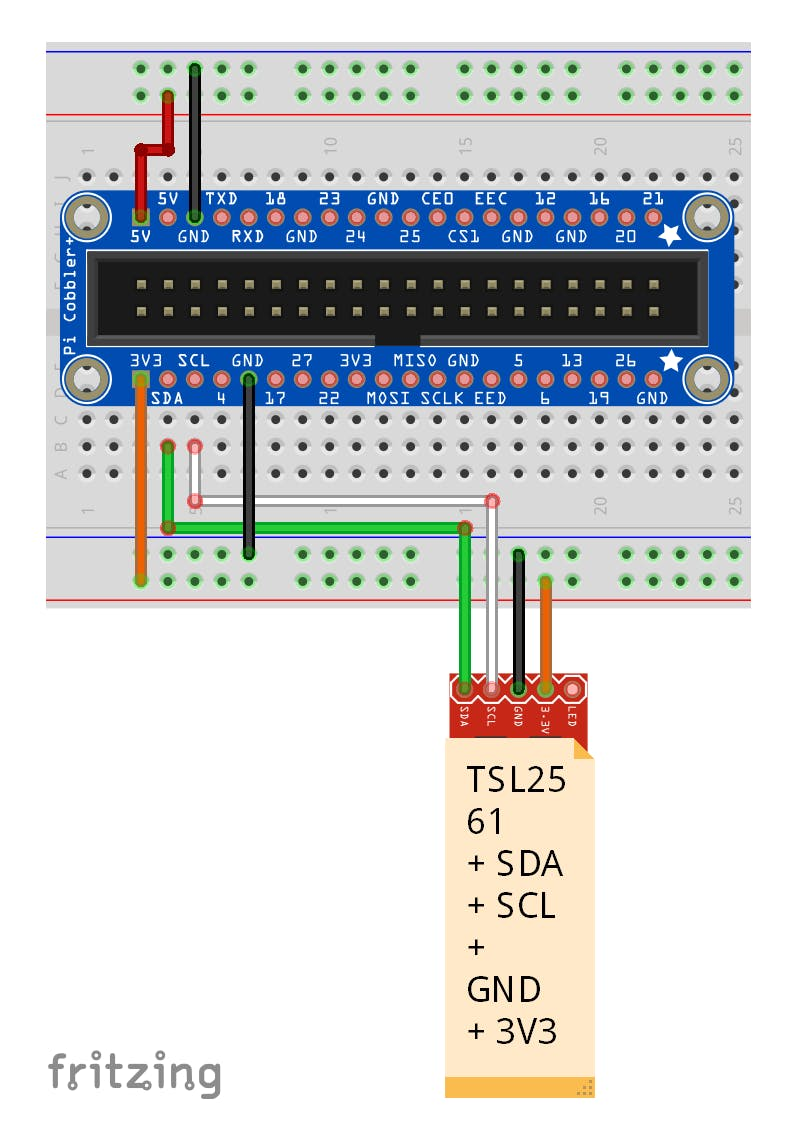 Light Sensor Connection