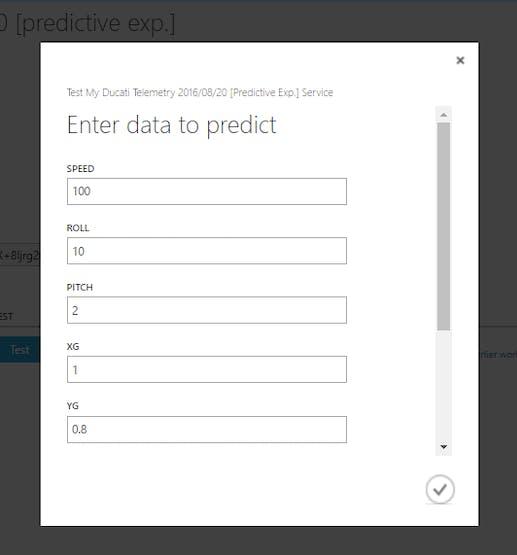 Enter data to predict
