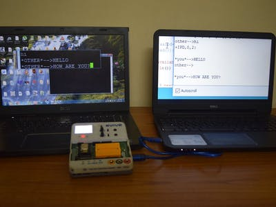 Chatting Using evive and ESP8266
