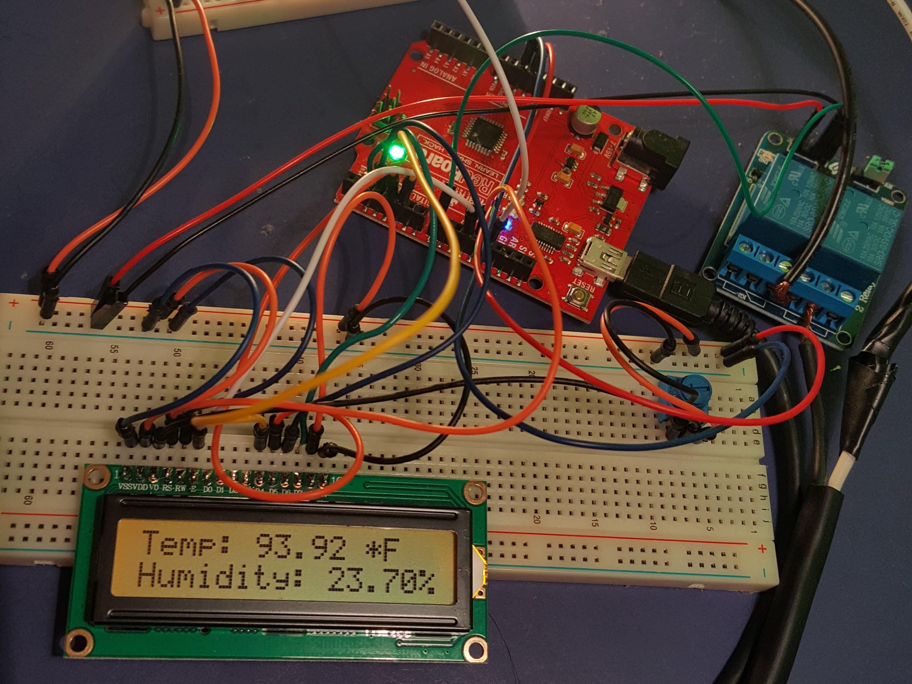 Ambient Temperature Controller