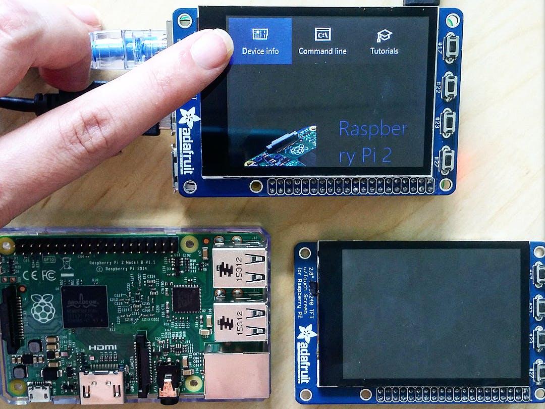 Windows 10 IoT Core for Adafruit SPI Touchscreen