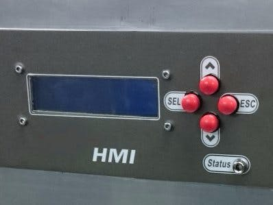 LCD Menu Interface with Buttons