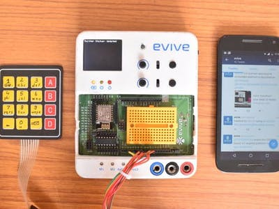 Tweet using Arduino, ESP and Keypad