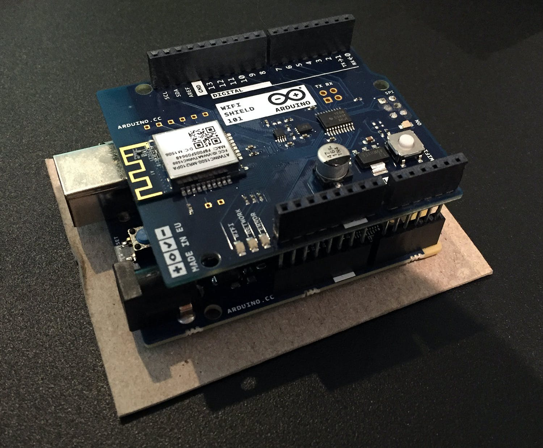 My Arduino 101 with Wi-Fi Shield