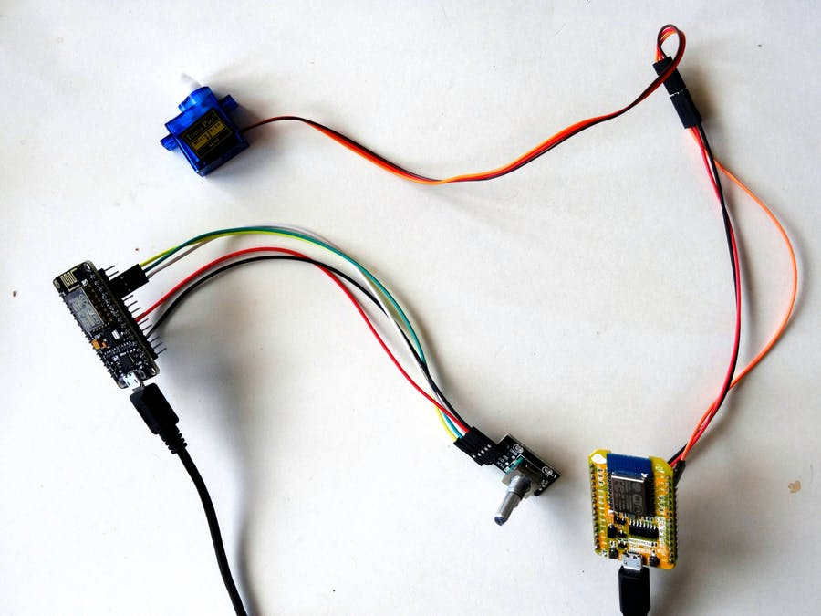 ESP8266 Wi-Fi: Remote Control Servo with Rotary Encoder - Hackster io