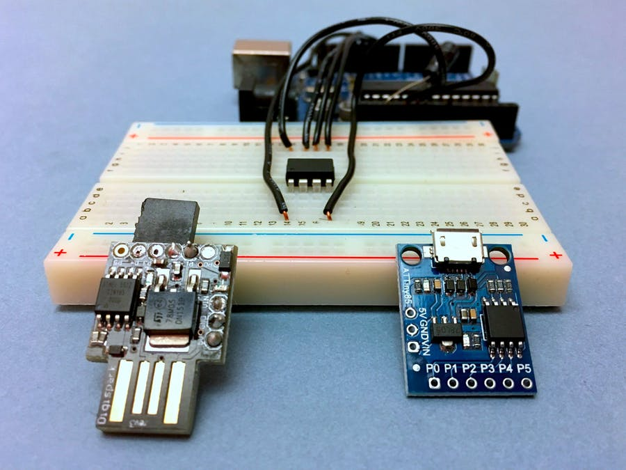 ATtiny85 for Simple Projects: Arduino Basics - Hackster.io
