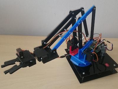 Cloudie - manipulator robotic arm