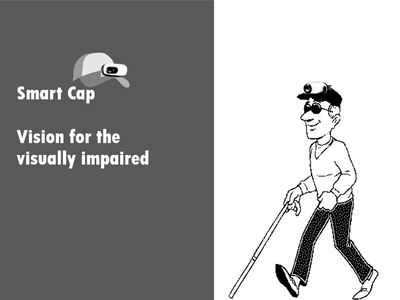 Smart Cap: Vision for the visually impaired