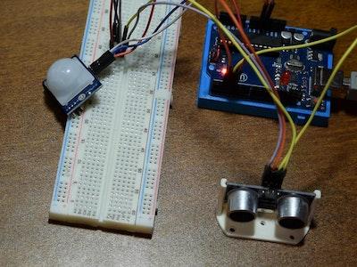 Arduino PIR Intruder System!