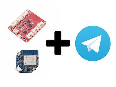 Smart Home with Wio Link/Wio Node and Telegram App