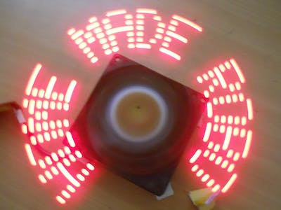 LED Propeller (Rotating) Display